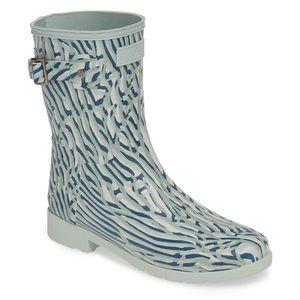 Hunter New Women's Rain-boot Coral Print